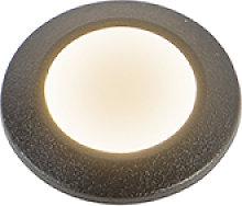 Faretto da terra esterno nero IP67con LED - ALDO