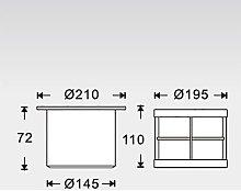 Faretto LED da esterno da interrare o da incasso,