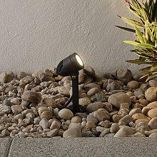 Faretto LED da esterno Timko con picchetto, nero