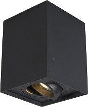 Faretto nero regolabile incl lampadina smart GU10