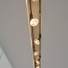 Faretto Puri per binario monofase grigio argento