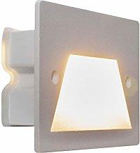 Faretto segnapassi IP65 LED 3W incasso scatola 503