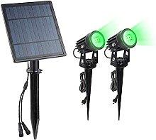 Faretto solare, 4 LED, per uso esterno, lampada