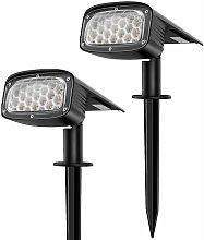Faretto solare da esterno 34 LED Lampada solare