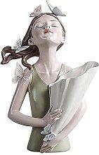 Farfalla ragazza resina scultura modello carattere