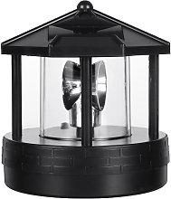 Faro a LED solare Luce rotante Lampada da giardino