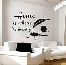Fashion Stickers Home is Where The Heart is