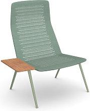 Fast Zebra Knit Poltrona Lounge con Tavolino