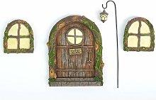 Fata porta e finestre per alberi – Glow in The