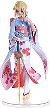 Fate/stay Night Saber Kimono Bella Ragazza Statua
