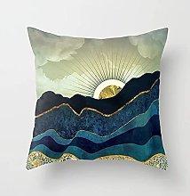 Federa decorativa Sunrise Print Camera da letto