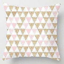 Federa di piume rosa Federa per cuscino decorativo