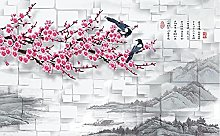 Felice nuovo inchiostro cinese pittura di