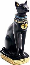 Fenteer Dea Bastet Statua Gatto Egiziano Figurine