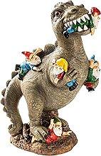 Fenteer Giardino Esterno Dinosauro Statua