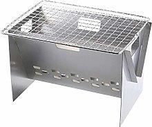 Fenteer Pieghevole Pieghevole BBQ Barbecue