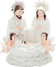 Fenteer Religioso Famiglia Statua Casa Cupido