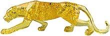 Fenteer Statuetta di scultura di leopardo