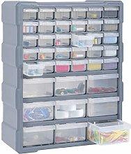 Festnight Mobile Contenitore Cassettiera Box Porta