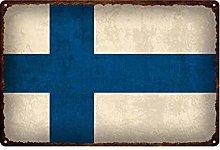 FFFPANDA Bandiera Nazionale Poster Targa in