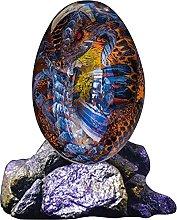 FFVWVGGPAA Statua in Resina di Uova di Dinosauro