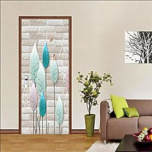 FGHXYNB 3D Adesivo Murale Natura Art Sticker,