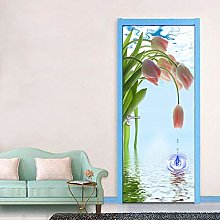 FGHXYNB Poster Per Porte 3D Adesivo Per Porta
