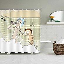 Fgolphd Tenda da doccia, 180 x 200 cm, 180 x 180