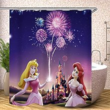 Fgolphd Tenda da doccia Disney Princess?Bella