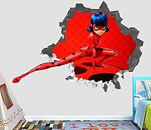 FHMYCSQ Adesivo Effetto 3D Adesivo murale