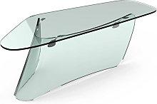 Fiam Graph - Scrivania in vetro
