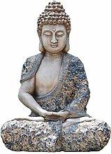 Figurina della decorazione del Buddha della