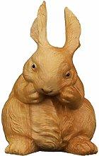 Figurina di coniglio mini carino statua cinese