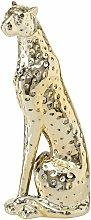 Figurina di ghepardo ORO dolomite statua in