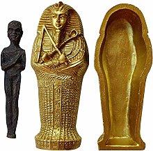 Figurina di scultura antica della mummia, Ebros