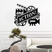 Film D'Azione Adesivo Murale Movie Reel Movie