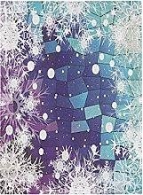 Fiocco Di Neve Di Natale Bandiera del Giardino