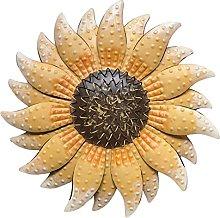 Fiore Del Metallo Della Decorazione Della Parete