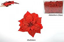 Fiore Rosso Con Pinzetta