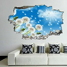 Fiori di tarassaco Adesivi decorativi da parete