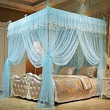 Fiori zanzariera per letto - 4 baldacchino