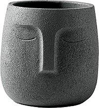 Fioriera succulenta Vaso da fiori in ceramica Vaso