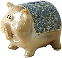 FISISZ Statuette Animale Decorazione Ceramica