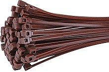 Fix&Easy fascette stringicavo impostato marrone