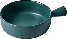 FLAMEER Ciotola da zuppa rotonda in ceramica con
