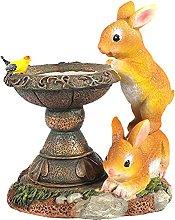 FLAMEER Ornamenti di Scultura di Coniglio da