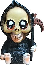 FLAMEER Statua del Bambino Grim Reaper Scultura di