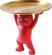 FLAMEER Statuetta di gatto in resina Decorazione