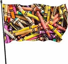 Fldong - Bandiere colorate per giardino, per