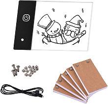 Flip Book Kit con mini pad luminoso a LED Design